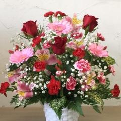 ☆情熱の赤バラ☆アレンジメント A-017