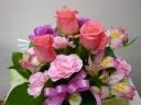 母の日・・・やさしめなピンク色の贈り物