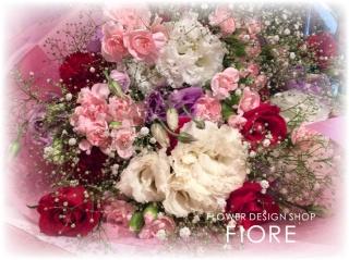 天使のウィンク★ふんわり花束