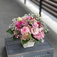★★オリジナルアレンジメント(濃ピンク系)