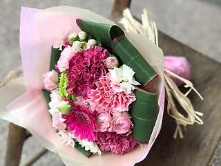 ★コロンとかわいいピンクのブーケ★