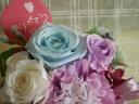 キレイな≪パープル≫のお花の贈り物☆