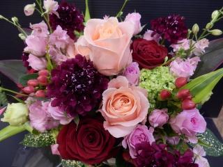 ピンク&レッドの≪綺麗なアレンジ≫