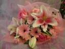 ☆CUTEカラーのピンク花束☆