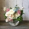 そのまま飾れる花瓶付き花束