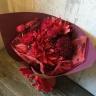 情熱的な赤い花束