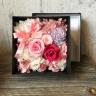 プリザのBOXアレンジメント~pink~