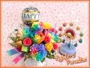 レインボーパラダイスバルーンフラワー:記念日