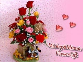 ミッキー&ミニーのフラワーハウス/ローズタワー
