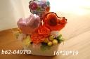 b62-040TO*母の日バルーン*Tオレンジ