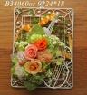 B34060OR*バイオリンオレンジ*壁掛け