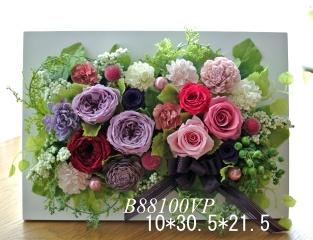B88100VP*紫が入った華やか壁掛けフレーム