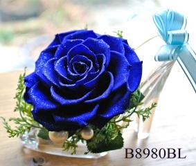 B8980BL*ダイヤモンドローズ*特大ブルー