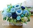 K45083BL*華やかてまり*ブルー系