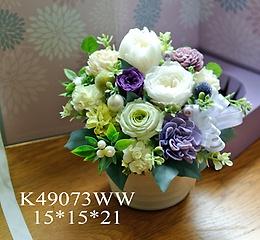 K49073ww*偲ぶ*ホワイト系