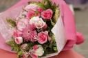 可愛い花束(ピンク系)