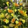 黄色い花 多めで・・