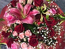 ゴージャスな花束をママへ