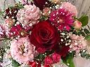 大好きなバラがメインの母の日ギフトred&pink