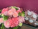 Mother's Day ピンクlove BOX とroseフィナンシェ
