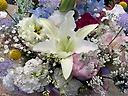 恋するおばあちゃんへ御供えのお花