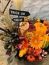 かぼちゃのハロウィンアレンジメント