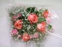 薔薇の花束(ピンク)