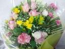 バラの入った花束