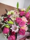 エレガントピンク花束