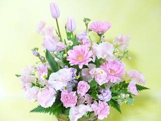 春♪ピンク色アレンジメント