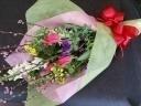 【春季限定】 菜の花と桃の花束