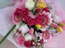 【豪華に】 春の花束
