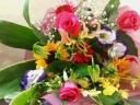 【されや】 オリジナル花束 カラフル