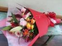 【されや】 スタンダード花束  祝