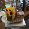 ブーケと花びんのセット