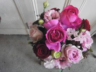 人気!!ロマンティックピンクのアレンジメント