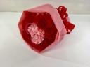 ラブリーハート花束ピンク