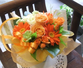 アレンジ【Freundliche Orange 】