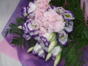 優しいイメージの花束