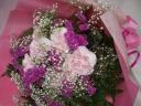 優しい感じのおすすめのピンク系花束