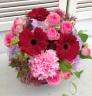 素敵色・・・お祝のための花篭