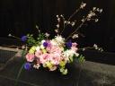 桜舞祭  の花篭