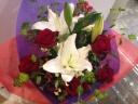長寿お祝いの贈呈用花束
