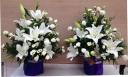 ご慰霊の左右の飾るための供花