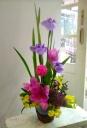 花菖蒲の篭