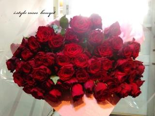 50本の赤薔薇・・・出会いは偶然、そして永遠
