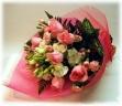 ピンクの花束*花想久里・はなおくり*