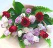 赤バラメインの花束*花想久里・はなおくり*