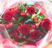 赤バラの情熱ブーケ*花想久里・はなおくり*