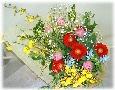 色とりどりカラフルな花束*花想久里・はなおくり*